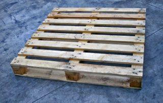 800x1200 mm tipo EPAL Pallet standard per esportazioni portata fino a 1200 Kg
